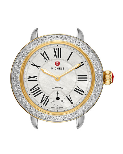 12mm Serein  Diamond Two-Tone Watch Head