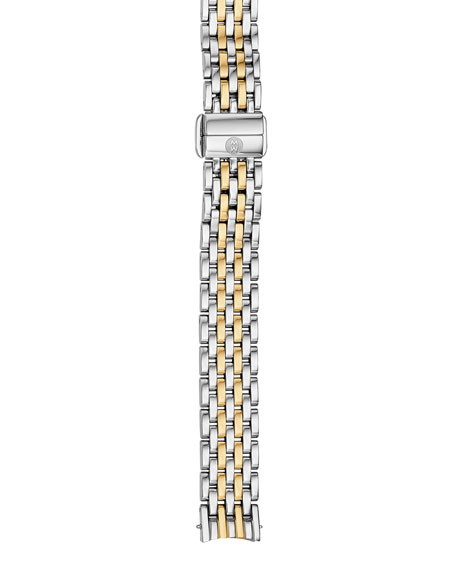 MICHELE 12mm Serein Two-Tone 7-Link Bracelet