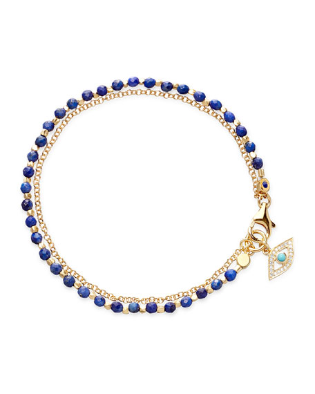 Astley Clarke Lapis Evil Eye Friendship Bracelet