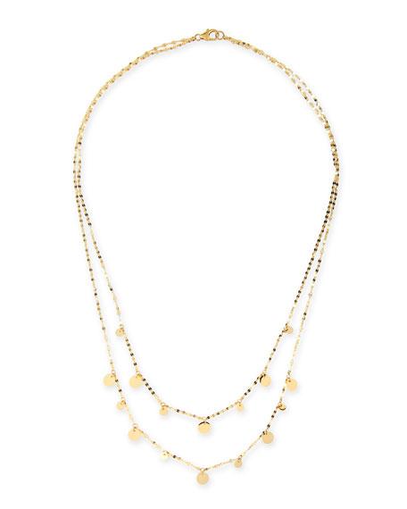 Lana boho gypsy 14k gold disc necklace 16 neiman marcus boho gypsy 14k gold disc necklace 16 aloadofball Images