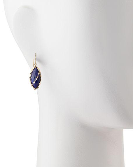 Abra Lapis Drop Earrings