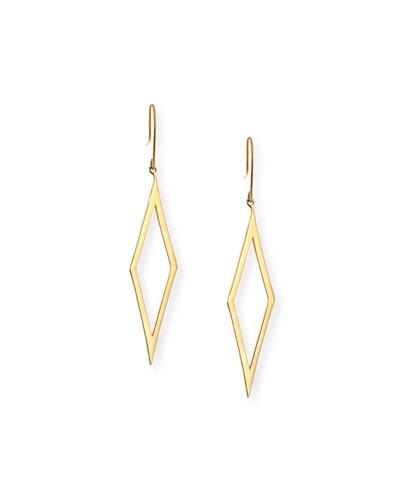 Aura Small 14k Gold Earrings