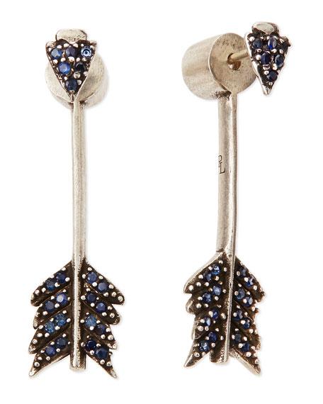 Irissa Shooting Arrow Dangle Earrings