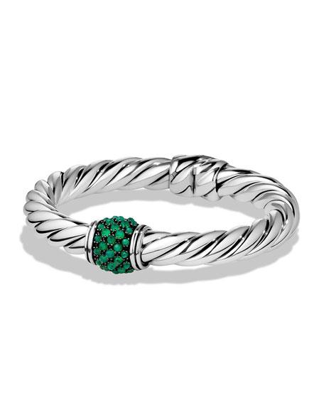 Osetra Bracelet with Green Onyx