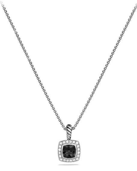 David Yurman Albion Necklace with Onyx and Diamonds