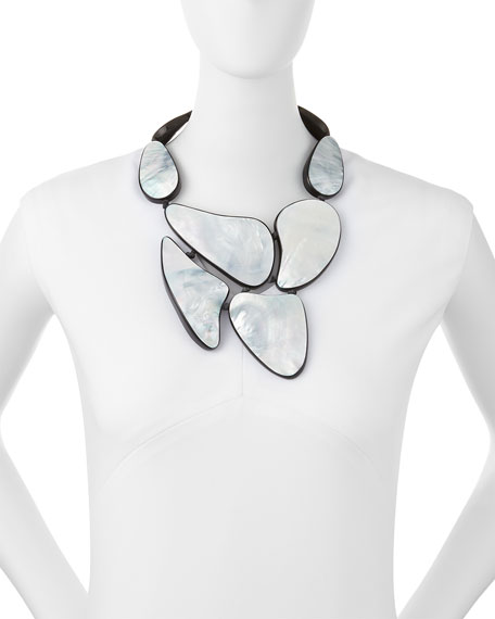 Viktoria Hayman Mother-of-Pearl Statement Necklace