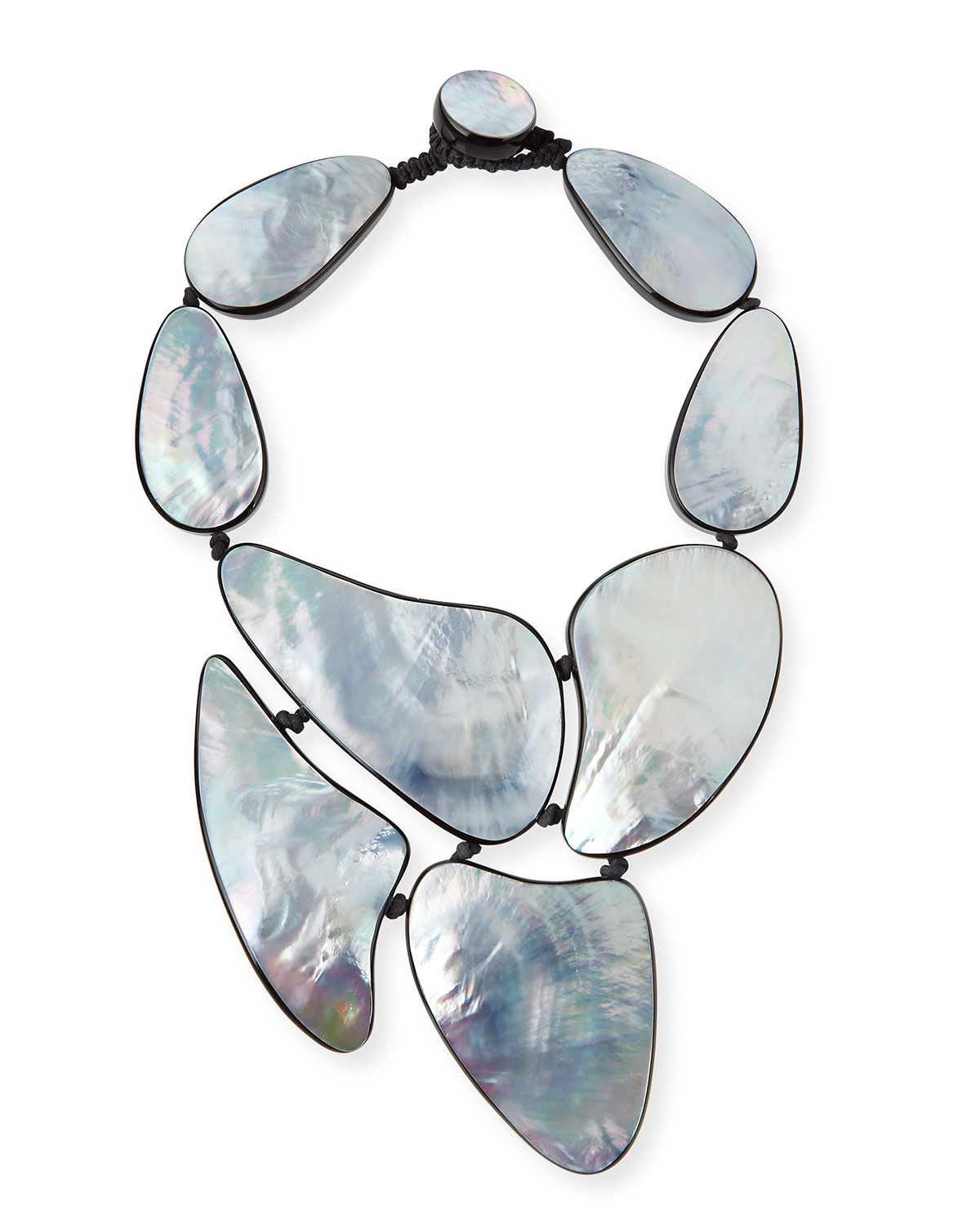 Viktoria Hayman Mother-of-Pearl Statement Necklace SqIRj0ARd4