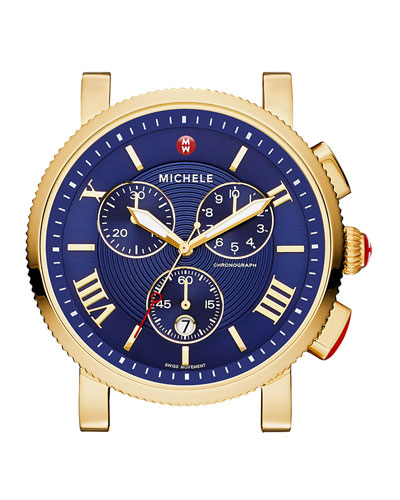 SPORT SAIL GOLD, BLUE DIAL