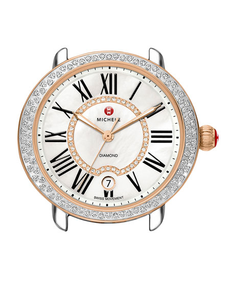 MICHELE Serein 16 Two-Tone Diamond Watch Head