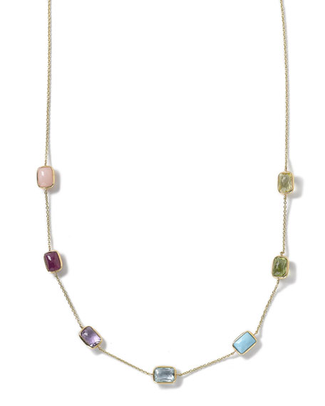 Ippolita 18k Gold Rock Candy Mini Gelato Rectangle