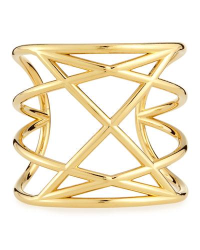 Majorie Golden Cuff Bracelet