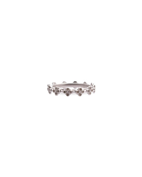 Armenta Diamond Crivelli Station Stackable Ring
