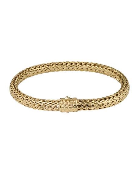 John Hardy Classic Chain 18K Gold Small Bracelet