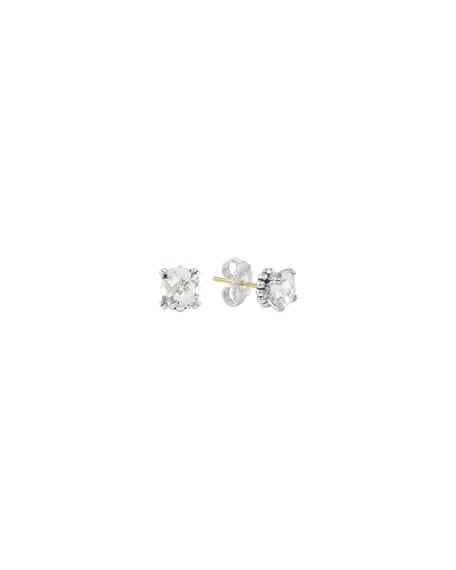 LAGOS Prism White Topaz Stud Earrings