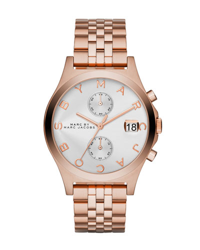 38mm Ferus Rose Golden Chronograph Watch