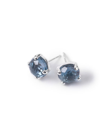 Ippolita Silver Rock Candy Mini Stud Earrings, London