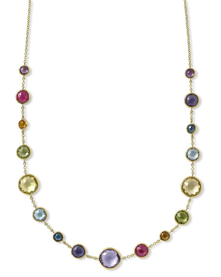 Ippolita 18k Gold Lollitini Multi-Stone Short Necklace