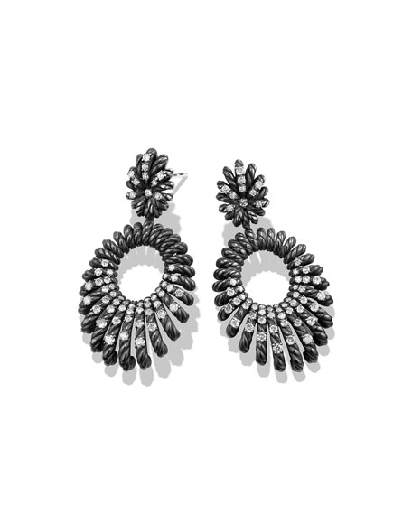 Tempo Double-Drop Diamond Earrings