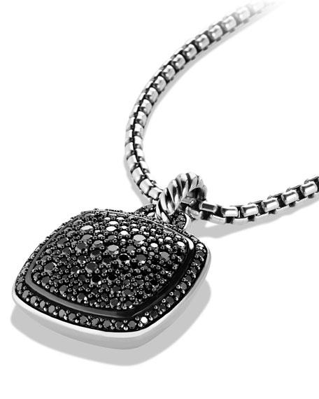 Albion Pendant with Black Diamonds, 17mm