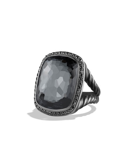 David Yurman Gray Orchid with Black Diamonds