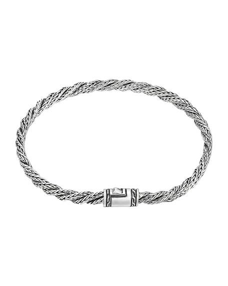 John Hardy Classic Chain Slim Twist Bracelet, Size