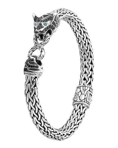 Classic Chain Medium Macan Lava Bracelet, Size M