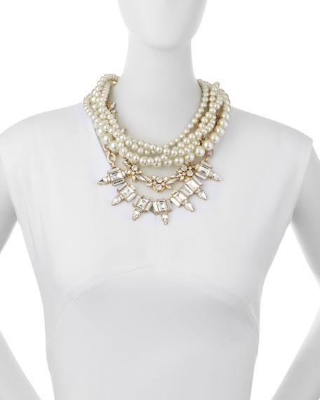Lulu Frost Lustre Multi-Strand Statement Necklace