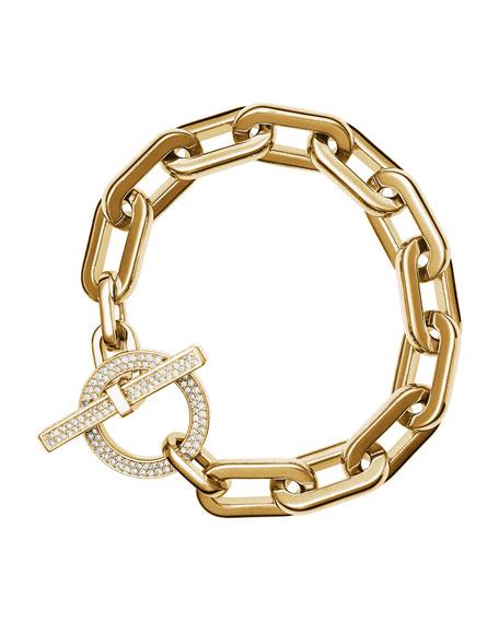 Cityscape Link Toggle Bracelet