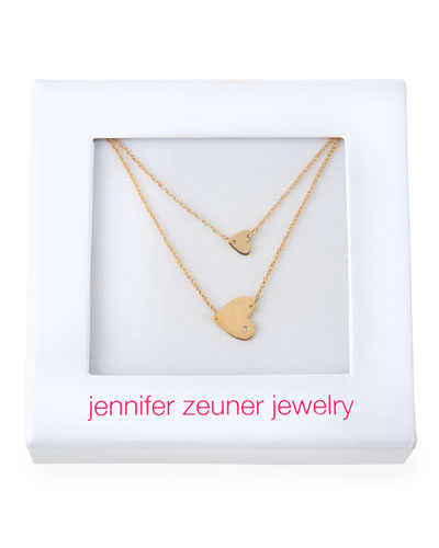 Love to Give Double Heart Necklace
