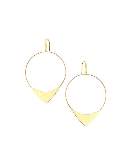 Lana 14k Large Elite Hoop Earrings