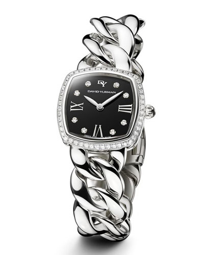 david yurman watches timepieces at neiman marcus albion 23mm stainless steel curb chain watch