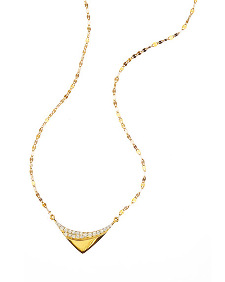 Lana 14k Electric Reflector Diamond Necklace