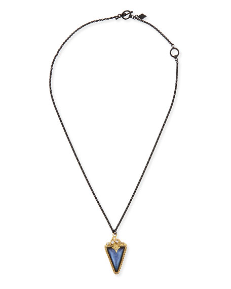 Armenta Old World Triangle Pendant Necklace