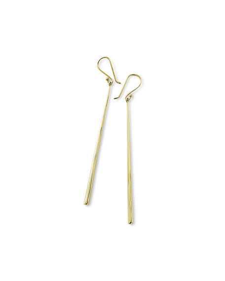 Ippolita 18k Glamazon Thin Elongated Earrings