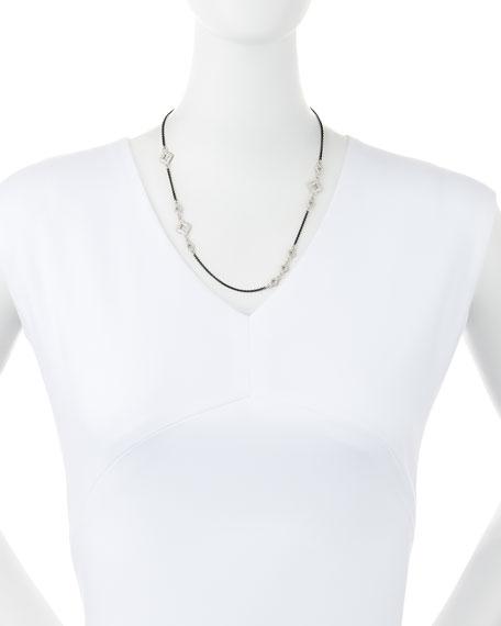 """Armenta New World Diamond Cravelli Chain Necklace, 20""""L"""