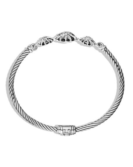 David Yurman 3mm Starburst Diamond Bracelet