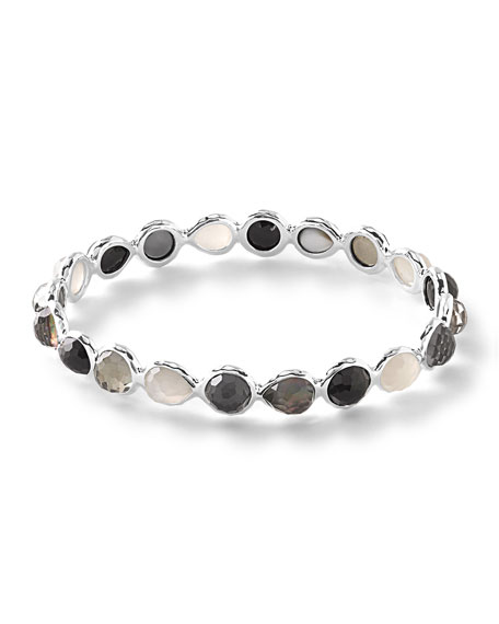 925 Rock Candy® All Around Bangle Bracelet in Black Tie