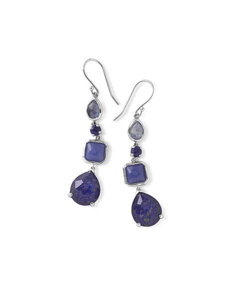 Ippolita 925 Rock Candy 4-Stone Linear Earrings, Odyssey