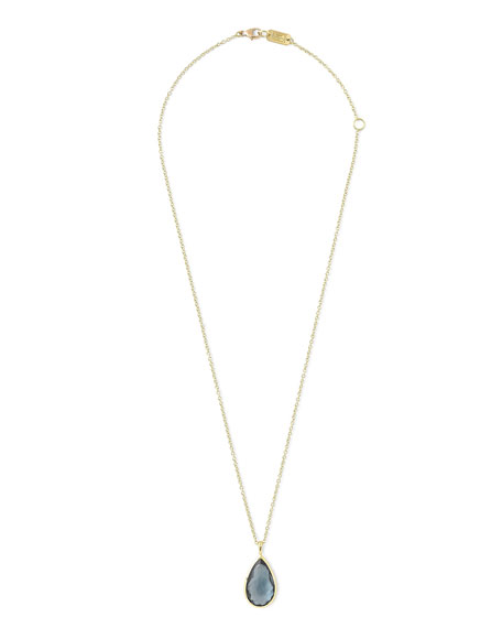 18k Rock Candy® Teardrop Pendant Necklace