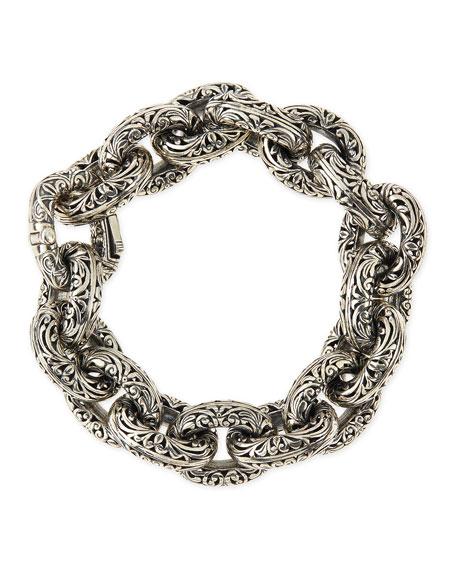 Quick Look Konstantino Sterling Silver Chunky Link Bracelet