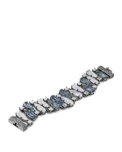 Multi-Stone Pear-Shaped Bracelet