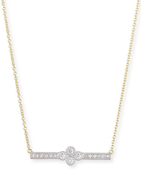 JudeFrances Jewelry Provence Diamond Bar Station Necklace