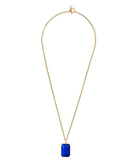 """Parisian Jewels Pendant Necklace, 30""""L"""
