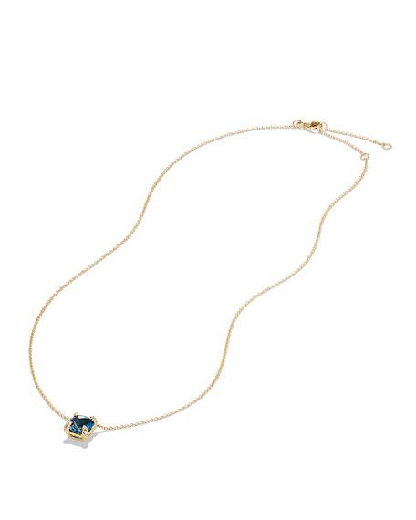 Châtelaine 7mm 18K Gold Pendant Necklace