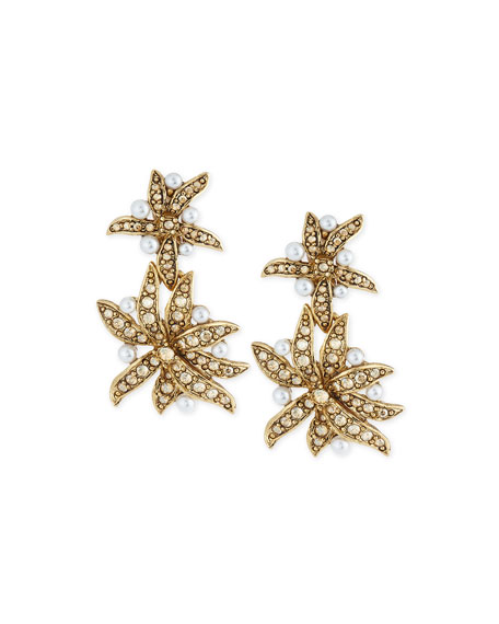 Oscar de la Renta Assorted Swarovski® Pearly Crystal