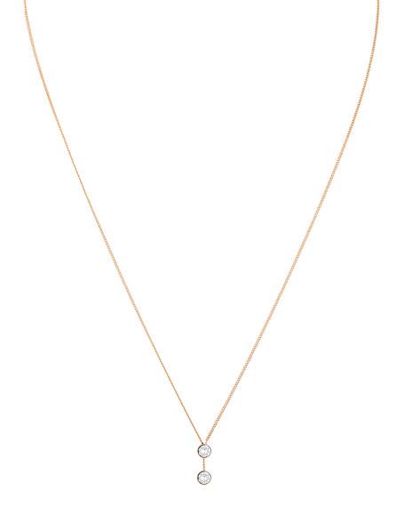 Vita Fede O'Hara 24K Rose Gold Solitaire Y-Drop