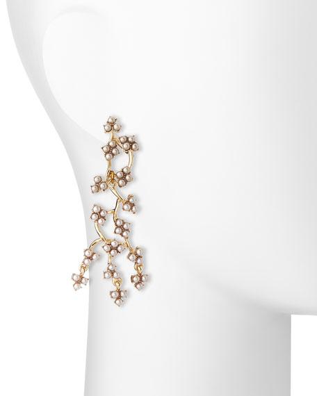 Jackie Web Dangling Earrings