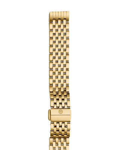 Deco II Midsize Seven-Link Bracelet Strap, Gold