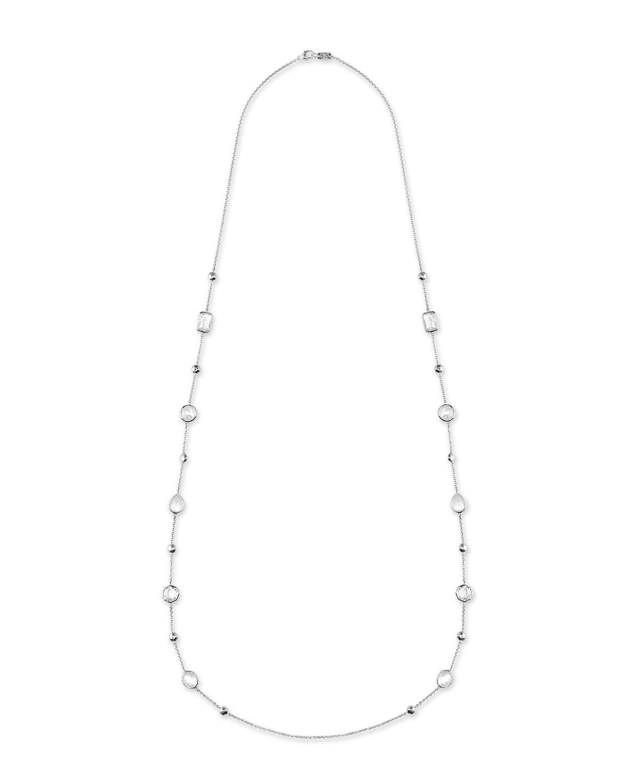 Ippolita 925 Rock Candy Medium-Station Necklace in Flirt, 42L