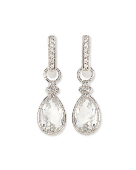 Jude Frances Pear Provence White Topaz & Diamond